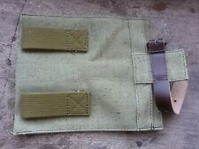 Original Russian Soviet Army cover pouch for small infantry shovel