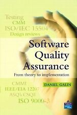 Software Quality Assurance : From Theory to Implementation by Daniel Galin...