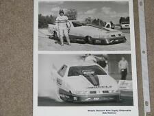 Wheels Discount Auto Supply Oldsmobile, Bob Newbury , 8x10 Photo