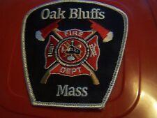 Oak Bluffs Mass. Fire patch