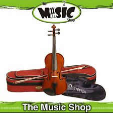 New Stentor Student 2 4/4 Full Size Violin with Bow & Case  - Solid Spruce S1544