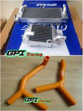 Aluminum radiator + silicone hose for KTM SX85 SX105 85 105 SX 2003-2012