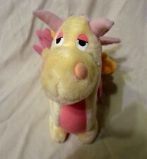 "Vintage 1987 Hasbro Be Mores Dragon 11"" Plush Soft Toy Stuffed Animal"