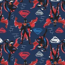 BATMAN VS SUPERMAN BLUE SUPERMAN FABRIC