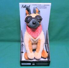 "Fallout 3 4 Dogmeat Plush with 2 Random Bandanas Officially Licensed 8"" Plushie"