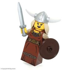 LEGO Collectible MiniFigure: Series 7: #13 - Viking Woman (Sealed Pack!)