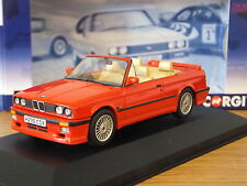 CORGI VANGUARDS BMW 3 SERIES E30 ALPINA CONVERTIBLE RED CAR MODEL VA13700 1:43