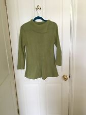 Olive Green Swing Jumper, Size Small, WORN ONCE