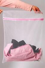 ONE LARGE LAUNDRY/WASH NET BAGS MESH TIGHTS BABY CLOTHES SOCKS WASHING MACHINE