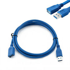 USB 3.0 A Male Plug To Female Socket 6FT 1.8M Super Fast Extension Cable Cord