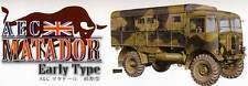 AFV-Club - AEC Matador Truck Early type Luftwaffe +Ätzteile Modell-Bausatz 1:35