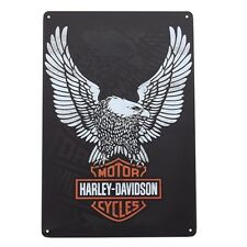 Harley Davidson metal sign Garage hanging plaque home wall decor mens gift