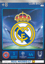 2014/15 Adrenalyn XL Champions League REAL MADRID CF No.23