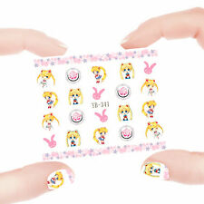 Nail Art Manicure Water Transfer Decal Sticker Sailor Moon YB341