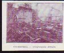 1921 -  MINES DE COURRIERES COMPRESSEURS DETRUITS  Q581