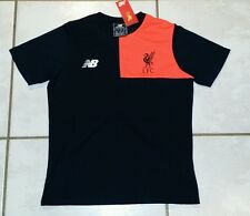 NWT NEW BALANCE BLACK Liverpool F.C. Elite Training T-Shirt Youth XL