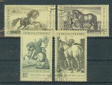 Tschechoslowakei Briefmarken 1969 Pferde  Mi.Nr.1870-73