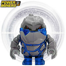 LEGO Power Miner Minifigure - Rock Monster : Glaciator ( Trans-Dark Blue 8964 )