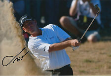 Thomas BJORN SIGNED Autograph 12x8 Photo AFTAL COA SARAZEN World Open Winner