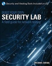 FAST SHIP - GREGG 1e Build Your Own Security Lab +CD                         W32