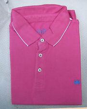 BNIP Men's Savile Row Piqué Short Sleeve Polo Shirt L Pink Perfect Man Present!