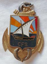Insigne SERVICE DE SANTE CFS COTE FRANCAISE DES SOMALIS ORIGINAL Drago Paris