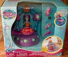 Sea Wees Deluxe Mermaid Salon Island Play Set w/Mirror, Brush & Shampoo NEW/SEAL