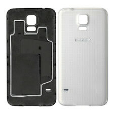 Genuine Back Battery Cover For Samsung Galaxy S5 G900F i9600 Shimmery White