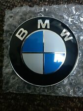 BMW 1 3 5 6 7 Z3 X6 X5 E SERIES FRONT BONNET BOOT REAR LOGO BADGE EMBLEM 82mm