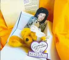 ANNETTE FUNICELLO PLUSH BEAR UNSEEN UNIQUE REFRIGRATE MAGNET & PERSONAL PROPERTY