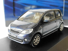 SKODA CITIGO NIGHT BLUE METAL 2012 3 DOORS ABREX 143AB021KL 1/43 BLAU BLEU
