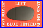 BMW Z4 2002-2008 DOOR WING MIRROR GLASS BLIND SPOT BLUE LEFT
