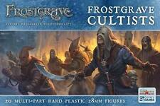 CULTISTS - FROSTGRAVE - FGVP02 - FANTASY WARGAMING - 28MM - WARHAMMER -NORTHSTAR