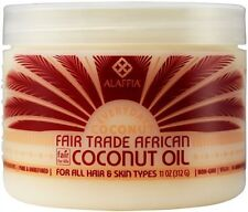 Pure African Coconut Oil - Natural Extract - Hair & Skin Care, 11oz from Alaffia