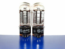 2 x 6L6gb G.E. Tubes *D Getter*Matched*Matching Codes*mA Tested*1958*Very Strong