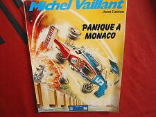 BD MICHEL VAILLANT PANIQUE A MONACO OFFERT PAR ELF 1986