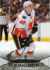 11/12 UPPER DECK YOUNG GUNS ROOKIE RC #203 GREG NEMISZ FLAMES *29306