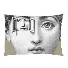"""FORNASETTI MOUTH LIPS Zippered Pillow Case 16""""x 24"""" - 2 sides Cushion Cover #4"""
