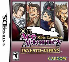 Ace Attorney Investigations: Miles Edgeworth Nintendo DS Game Brand New