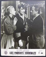 3 Photos Jean Cocteau Les Parents Terribles - Tirages argentiques d'époque 1948