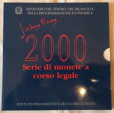 Italia-corso monete frase 2000-Giordano Bruno-tasso-timbro lucentezza (10850/851n