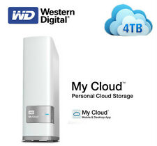 WD 4TB My Cloud Personal Cloud Storage Hard Disk Drive---