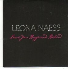 (BZ181) Leona Naess, Leave Your Boyfriends Behind - 2009 DJ CD