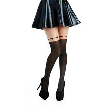 Pamela Mann Large Heart Over Knee Tights, over knee hosiery, over knee pantyhose