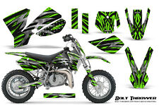 KTM SX50 2002-2008 CREATORX GRAPHICS KIT DECALS BOLT THROWER GREEN
