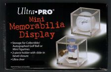 Ultra Pro Acrylic Golf Ball or Mini Memorabilia Display Case / Cube Holder