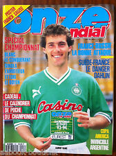 ONZE Mondial  n°55; Interview David Ginola/ Equipe de France/ Copa América
