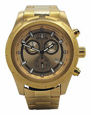 Invicta 17730 Mens Speciality Gold Tone Stainless Steel Chronograph 45mm Watch