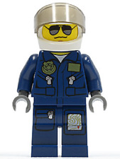 Lego Mini Figure - City Forest Police - Helicopter Pilot - (cty383)