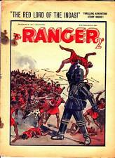 RANGER #50 - July 21, 1934 UK adventure weekly - HUMAN SPIDER, Red Lord of Incas
